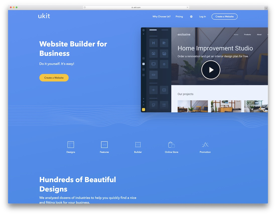 Ukit meilleur constructeur de site web mobile friendly