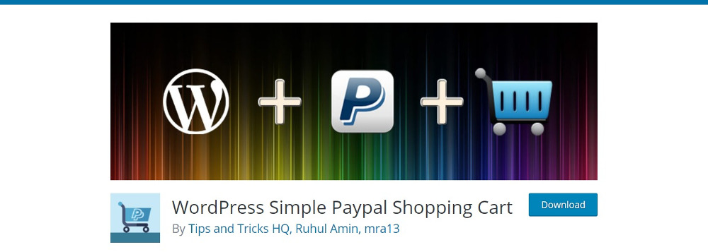 WordPress PayPal Plugins: Panier WordPress Simple PayPal