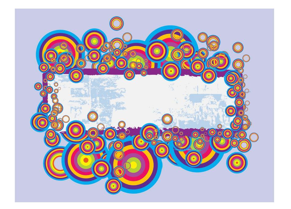 Bannière arc-en-ciel polyvalente