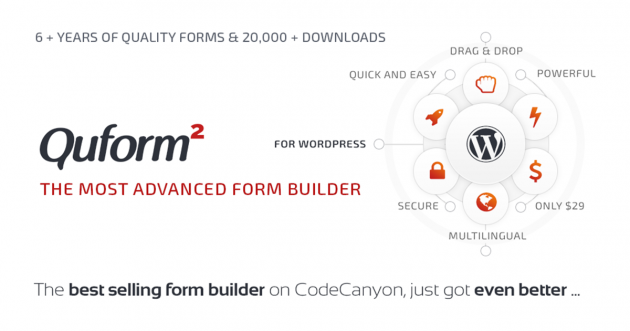 Best Contact Form Plugins pour WordPress quform