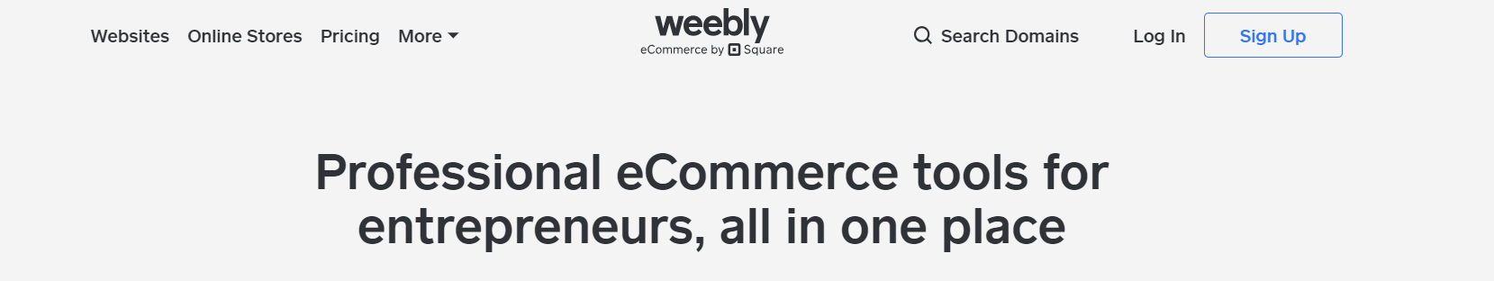 Weebly est une alternative Wix abordable
