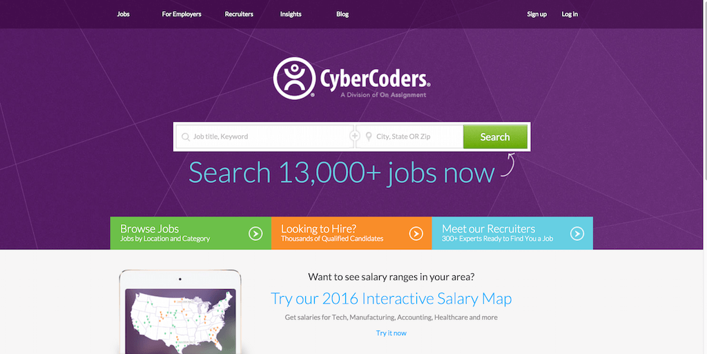 CyberCoders - Recrutement Informatique