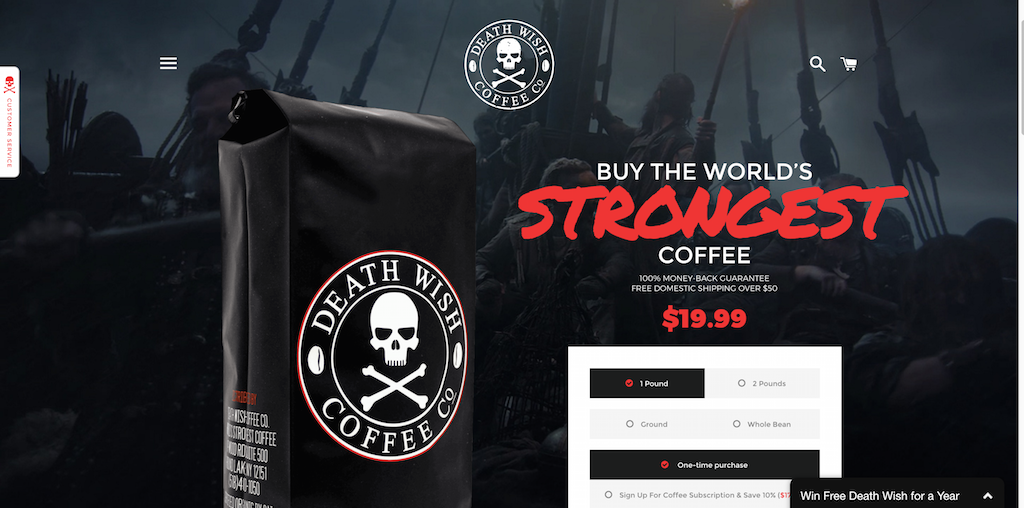 Café le plus fort du monde - Death Wish Coffee Company