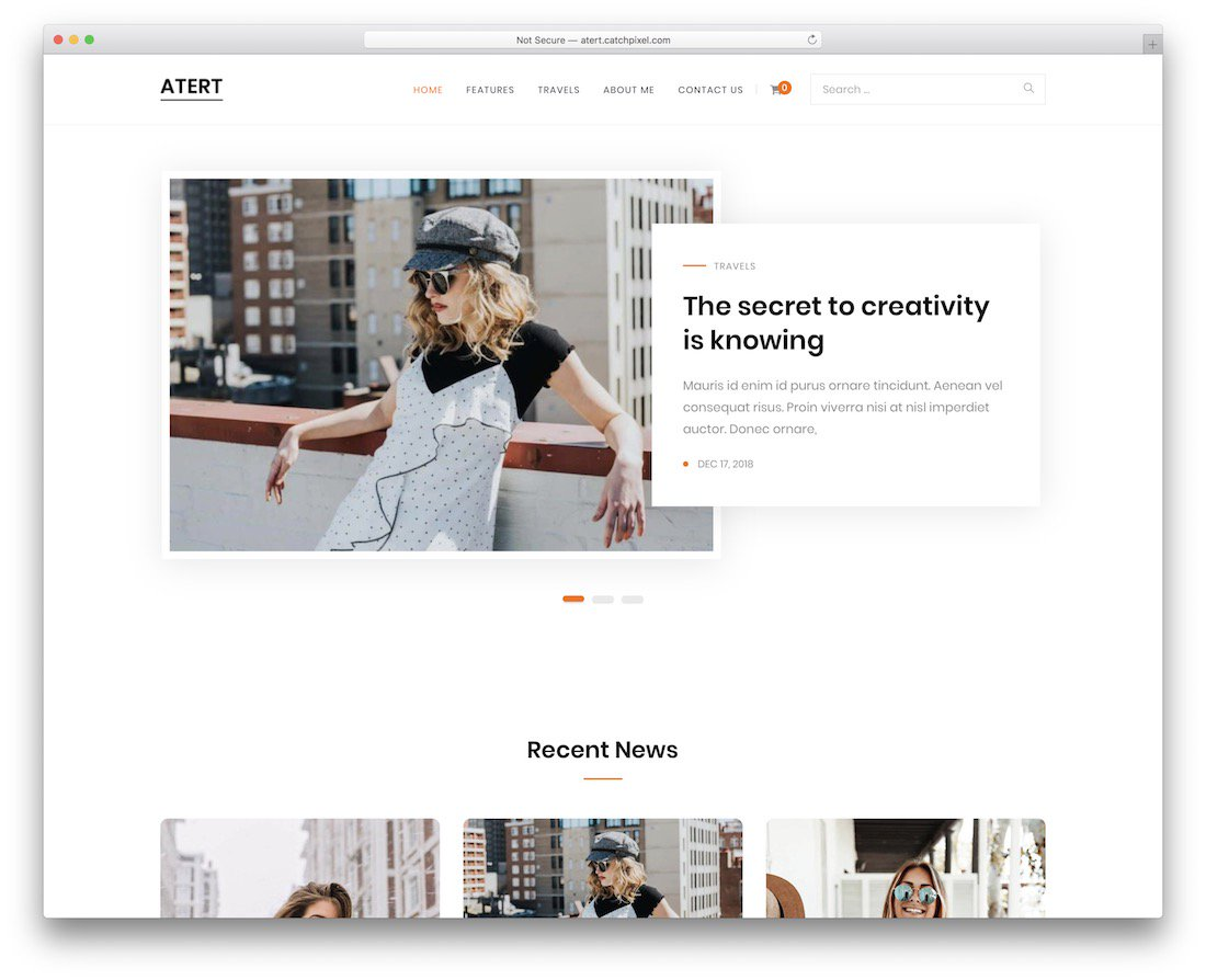 atert wordpress theme