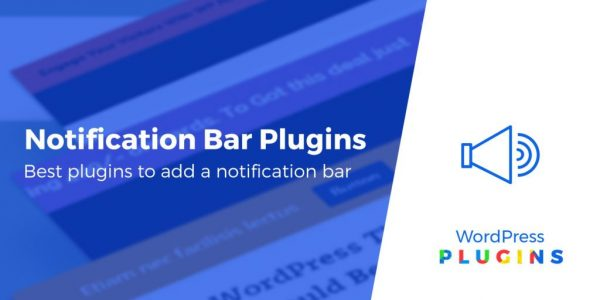 9 Best Free WordPress Notification Bar Plugins (Pros and Cons)