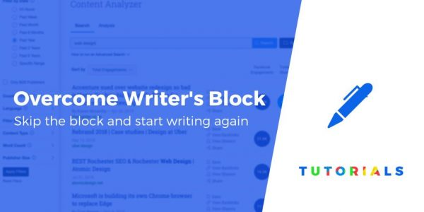 How to Overcome Writer's Block as a Blogger: 6 Strategies