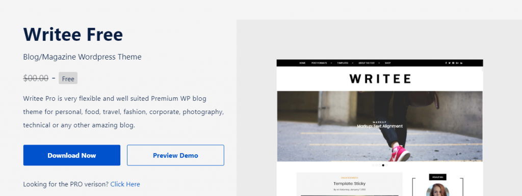 "Thèmes WordPress Blog gratuits ""width ="" 640 ""height ="" 241 ""srcset ="" https://webypress.fr/wp-content/uploads/2019/09/1569576961_487_30-themes-de-blog-WordPress-gratuits.png 1024w, https: / /cdn.learnwoo.com/wp-content/uploads/2019/09/Writee-Free-300x113.png 300w, https://cdn.learnwoo.com/wp-content/uploads/2019/09/Writee-Free- 768x289.png 768w, https://cdn.learnwoo.com/wp-content/uploads/2019/09/Writee-Free-696x262.png 696w, https://cdn.learnwoo.com/wp-content/uploads/ 2019/09 / Writee-Free-1068x401.png 1068w, https://cdn.learnwoo.com/wp-content/uploads/2019/09/Writee-Free-1117x420.png 1117w, https: //cdn.learnwoo. com / wp-content / uploads / 2019/09 / Writee-Free.png 1253w ""tailles ="" (largeur maximale: 640px) 100vw, 640px"