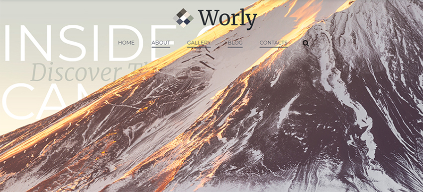 Worly - Photography Multicamour Modern Elementor Thème WordPress