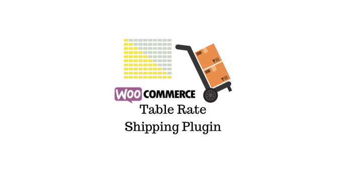 WooCommerce Table Rate Plugin Expédition