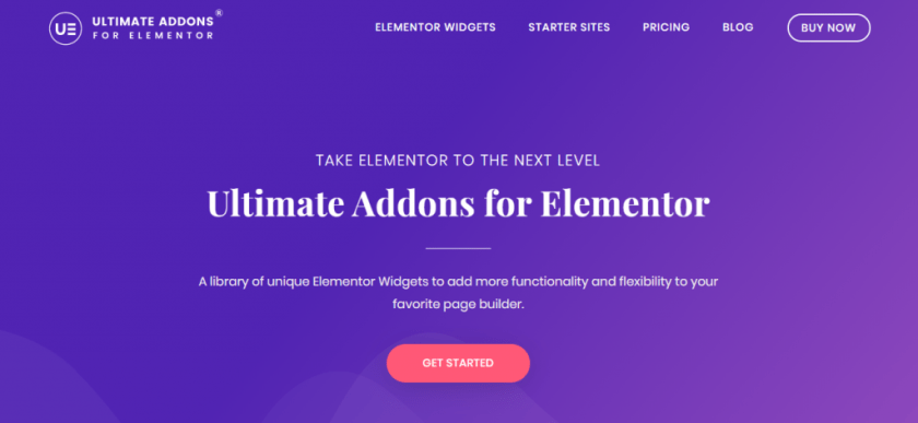 Addons ultimes pour Elementor