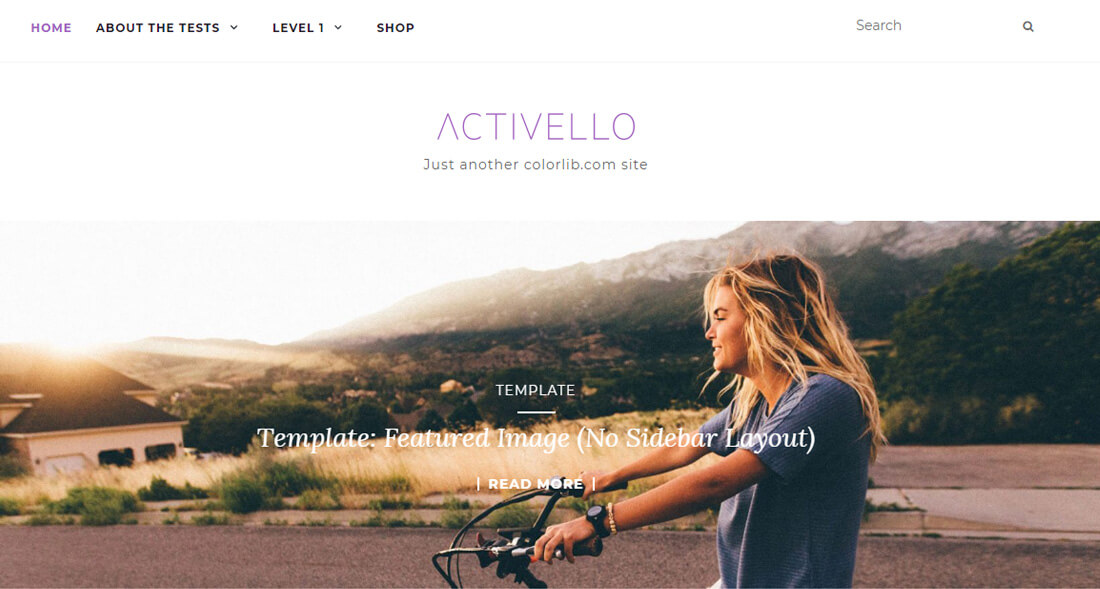 Activello - Thème de Blog Multipurpose Simple