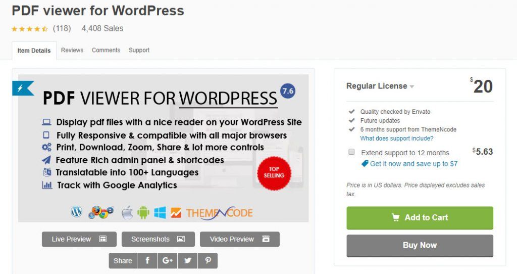 "Incorporer des fichiers PDF dans WordPress ""width ="" 640 ""height ="" 339 ""srcset ="" https://webypress.fr/wp-content/uploads/2019/10/1571998702_565_Comment-incorporer-des-fichiers-PDF-dans-WordPress.jpg 1024w, https: //cdn.learnwoo.com/wp-content/uploads/2019/10/PDF- Viewer-300x159.jpg 300w, https://cdn.learnwoo.com/wp-content/uploads/2019/10/PDF-Viewer -768x407.jpg 768w, https://cdn.learnwoo.com/wp-content/uploads/2019/10/PDF-Viewer-696x369.jpg 696w, https://cdn.learnwoo.com/wp-content/uploads /2019/10/PDF-Viewer-793x420.jpg 793w, https://cdn.learnwoo.com/wp-content/uploads/2019/10/PDF-Viewer.jpg 1050w ""tailles ="" (largeur maximale: 640px ) 100vw, 640px"