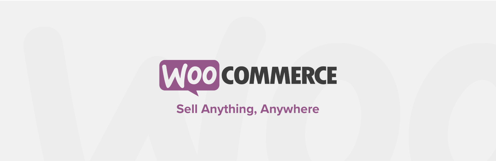 Le plugin WooCommerce pour WordPress.
