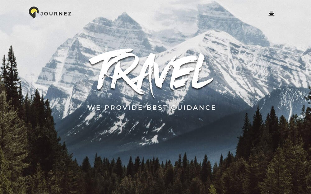 Journez - Travel Elementor Thème WordPress