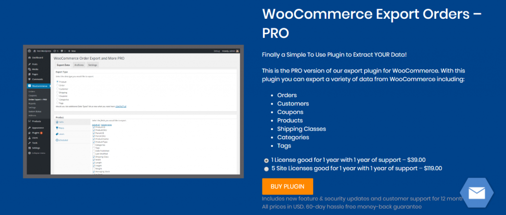 "Plugins d'exportation client / commande WooCommerce ""width ="" 640 ""height ="" 273 ""srcset ="" https://cdn.learnwoo.com/wp-content/uploads/2019/11/WooCommerce-Export-Orders-Pro-1024x436 .png 1024w, https://cdn.learnwoo.com/wp-content/uploads/2019/11/WooCommerce-Export-Orders-Pro-300x128.png 300w, https://cdn.learnwoo.com/wp-content /uploads/2019/11/WooCommerce-Export-Orders-Pro-768x327.png 768w, https://cdn.learnwoo.com/wp-content/uploads/2019/11/WooCommerce-Export-Orders-Pro-696x296. png 696w, https://cdn.learnwoo.com/wp-content/uploads/2019/11/WooCommerce-Export-Orders-Pro-1068x455.png 1068w, https://cdn.learnwoo.com/wp-content/ uploads / 2019/11 / WooCommerce-Export-Orders-Pro-986x420.png 986w, https://cdn.learnwoo.com/wp-content/uploads/2019/11/WooCommerce-Export-Orders-Pro.png 1320w "" tailles = ""(largeur maximale: 640px) 100vw, 640px"