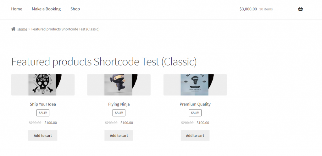 """WordPress et WooCommerce Shortcodes """"width ="""" 640 """"height ="""" 311 """"srcset ="""" https://cdn.learnwoo.com/wp-content/uploads/2019/11/Featured-products-page-classic-1024.024x497.png 1024w , https://cdn.learnwoo.com/wp-content/uploads/2019/11/Featured-products-page-classic-300x146.png 300w, https://cdn.learnwoo.com/wp-content/uploads/ 2019/11 / Featured-products-page-classic-768x373.png 768w, https://cdn.learnwoo.com/wp-content/uploads/2019/11/Featured-products-page-classic-696x338.png 696w, https://cdn.learnwoo.com/wp-content/uploads/2019/11/Featured-products-page-classic-1068x519.png 1068w, https://cdn.learnwoo.com/wp-content/uploads/2019 /11/Featured-products-page-classic-865x420.png 865w, https://cdn.learnwoo.com/wp-content/uploads/2019/11/Featured-products-page-classic.png 1174w """"tailles ="""" (largeur maximale: 640px) 100vw, 640px"""
