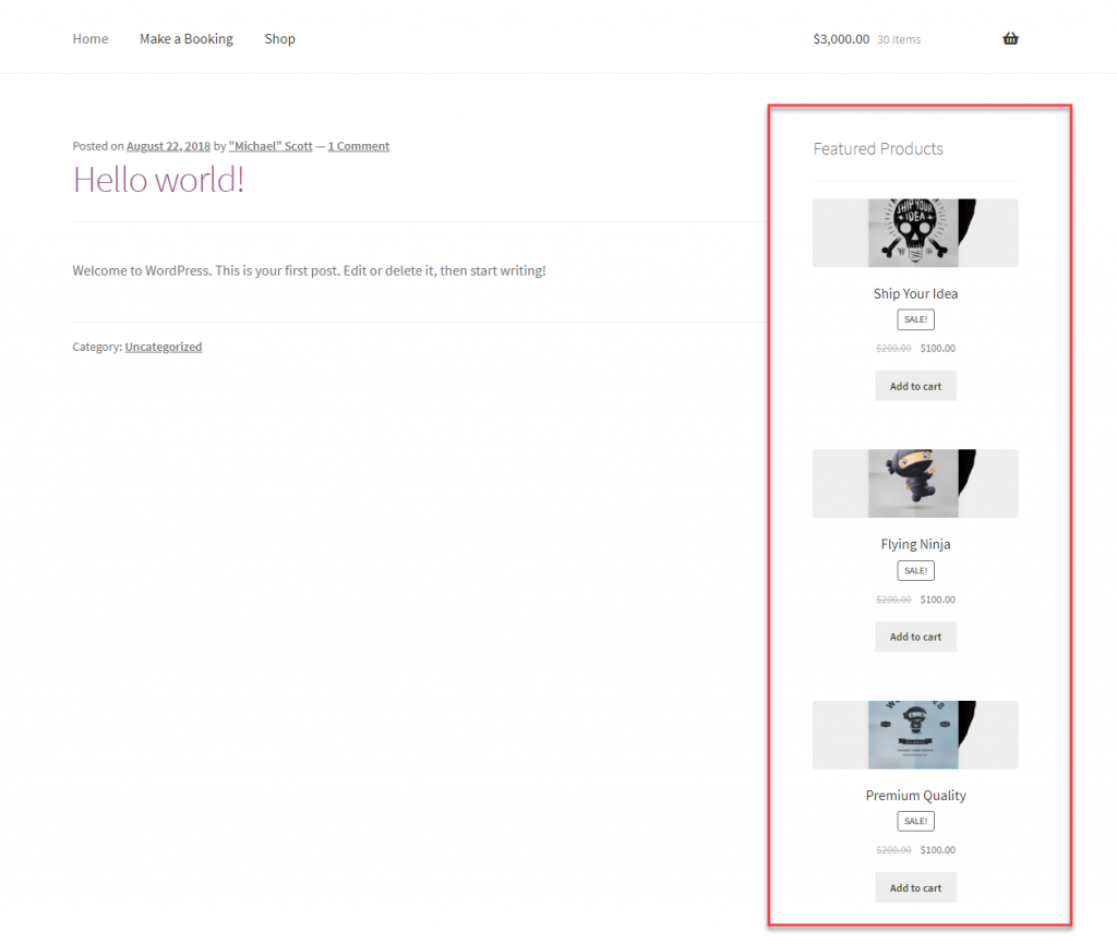 """WordPress et WooCommerce Shortcodes """"width ="""" 640 """"height ="""" 542 """"srcset ="""" https://webypress.fr/wp-content/uploads/2019/11/1574506433_496_Comment-utiliser-WordPress-et-WooCommerce-Shortcodes.png 1024w , https://cdn.learnwoo.com/wp-content/uploads/2019/11/Featured-products-on-sidebar-300x254.png 300w, https://cdn.learnwoo.com/wp-content/uploads/ 2019/11 / Produits-en-sidebar-768x651.png 768w, https://cdn.learnwoo.com/wp-content/uploads/2019/11/Featured-products-on-sidebar-696x590.png 696w, https://cdn.learnwoo.com/wp-content/uploads/2019/11/Featured-products-on-sidebar-1068x905.png 1068w, https://cdn.learnwoo.com/wp-content/uploads/2019 /11/Featured-products-on-sidebar-496x420.png 496w, https://cdn.learnwoo.com/wp-content/uploads/2019/11/Featured-products-on-sidebar.png 1256w """"tailles ="""" (largeur maximale: 640px) 100vw, 640px"""