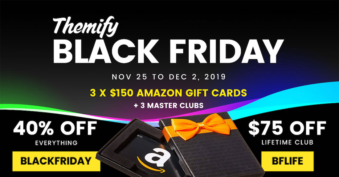 """themify """"width ="""" 1100 """"height ="""" 573 """"srcset ="""" https://webypress.fr/wp-content/uploads/2019/11/1574673027_540_Black-Friday-Offres-WordPress-amp-Offres-2019.jpg 1100w, https://colorlib.com/ wp / wp-content / uploads / sites / 2 / themify-bf2019-300x156.jpg 300w, https://colorlib.com/wp/wp-content/uploads/sites/2/themify-bf2019-1024x533.jpg 1024w, https://colorlib.com/wp/wp-content/uploads/sites/2/themify-bf2019-768x400.jpg 768w, https://colorlib.com/wp/wp-content/uploads/sites/2/themify -bf2019-600x313.jpg 600w """"data-lazy-tailles ="""" (max-width: 1100px) 100vw, 1100px """"src ="""" https://colorlib.com/wp/wp-content/uploads/sites/2//themify -bf2019.jpg """"/></p> <p><noscript><img class="""