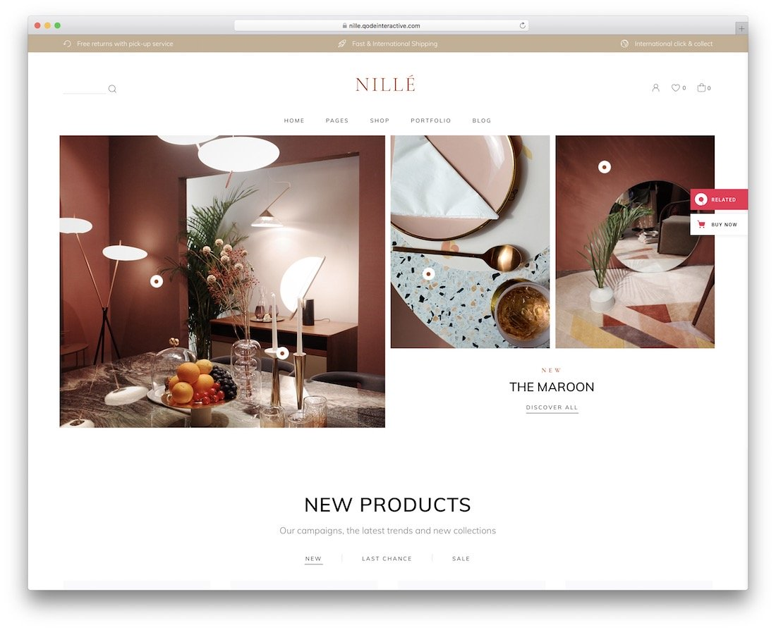 thème wordpress nille woodwork
