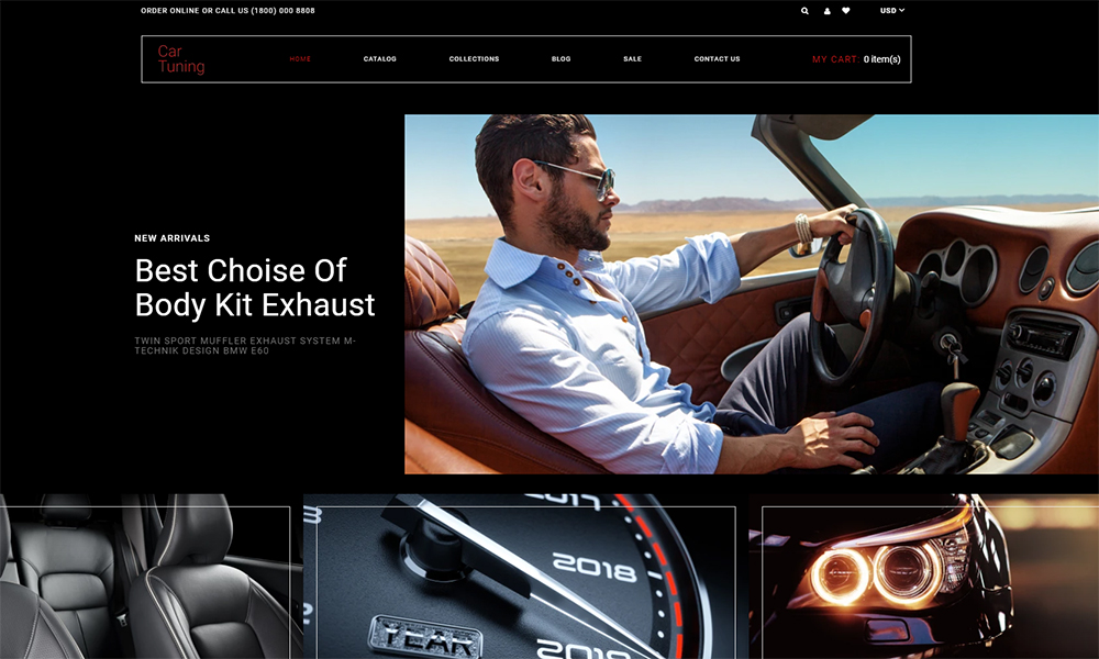 Car Tuning - Car Tuning Multipage Modern Shopify Theme