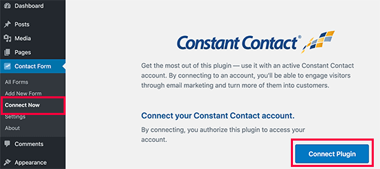 Contact constant connect