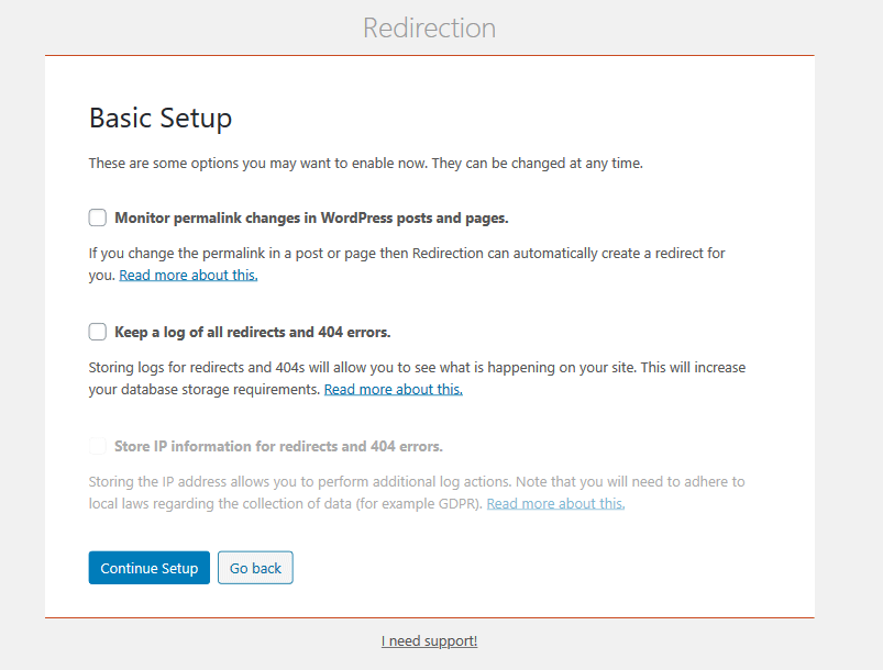 Plugin de redirection WordPress - Redirection