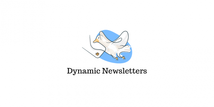 Newsletters dynamiques