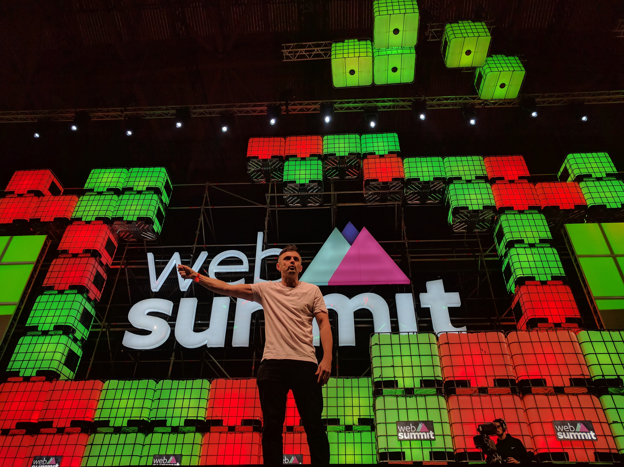 WP Mayor assiste au Web Summit 2016 à Lisbonne