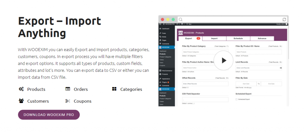 Plugins d'exportation de commandes WooCommerce
