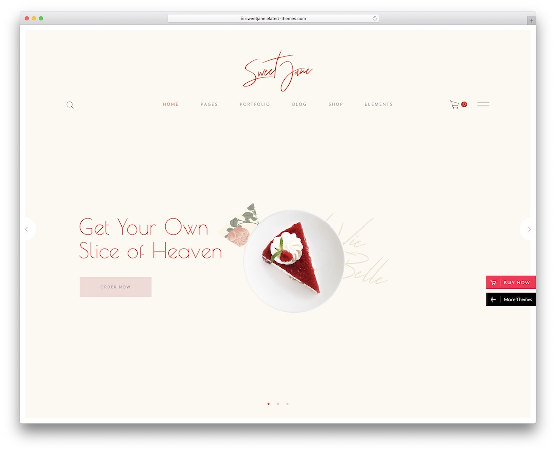 Thème WordPress Sweet Jane