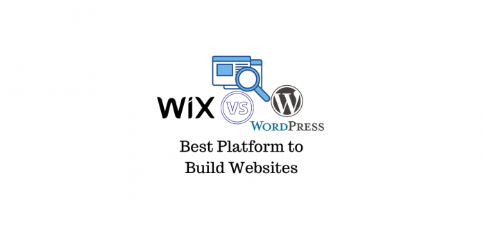 Wix contre WordPress
