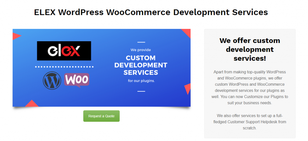 Services WooCommerce