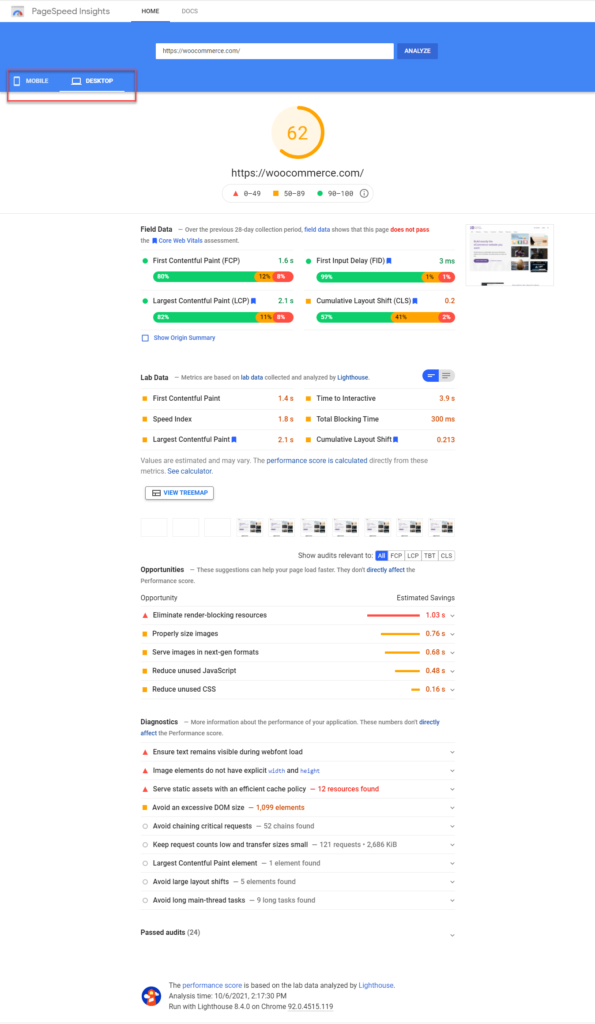 Comment utiliser Google PageSpeed Insights 30