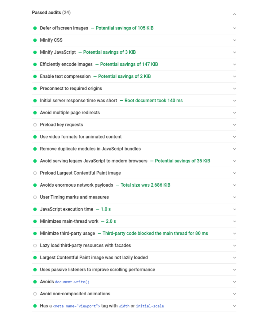 Comment utiliser Google PageSpeed Insights 36